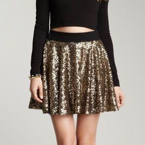 MINKPINK Fireworks Sequin Skirt